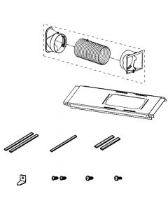 COV32025801 Room Air Conditioner Exhaust Duct Installation Kit